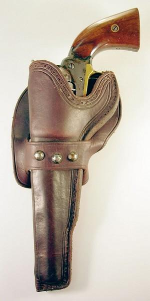 SOLD ~ Left-handed Holster for  36 caliber model 1858 Remington