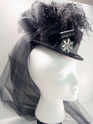 SOLD - 19th Century Ladies Traveling Hat Late 1880s a217088658f
